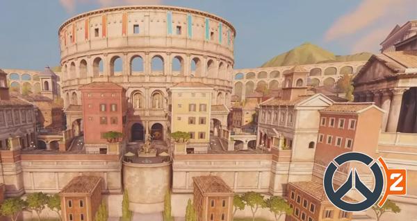 overwatch 2 : le match d'exhibition sur la map
